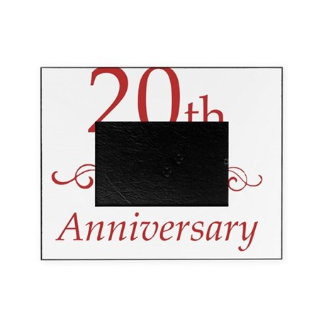 20th wedding anniversary picture frames