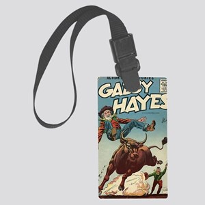 Gabby Hayes No 58 Large Luggage Tag