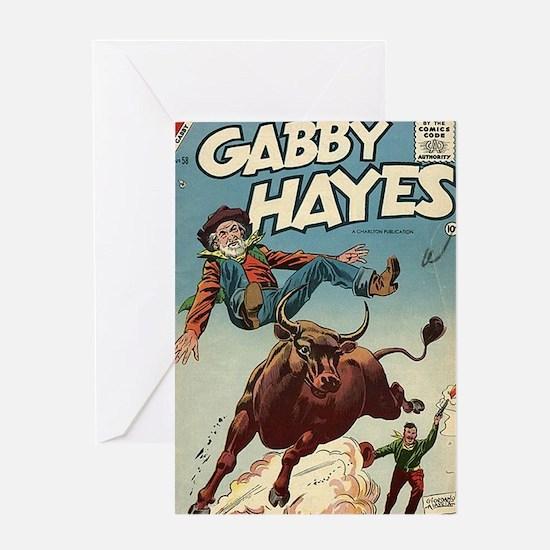 Gabby Hayes No 58 Greeting Card