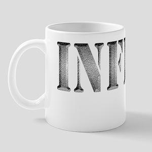 INFIDEL chiseled plain Mug