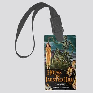 House on Haunted Hill. Large Luggage Tag