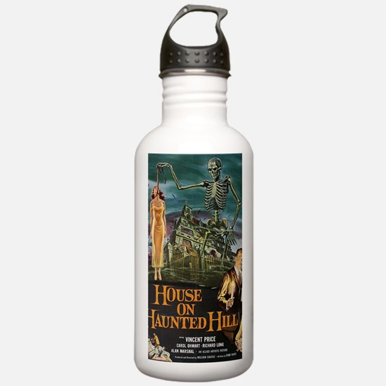 House on Haunted Hill. Water Bottle