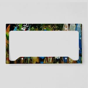 Hawaii Surf License Plate Holder