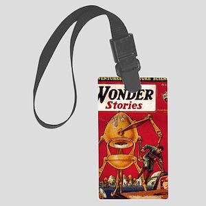 Wonder Stories Vol 3 No 5 Large Luggage Tag