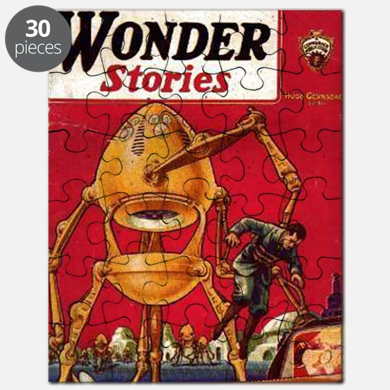 Wonder Stories Vol 3 No 5 Puzzle
