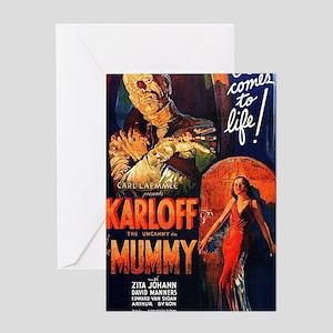 Mummy 1932 Greeting Card