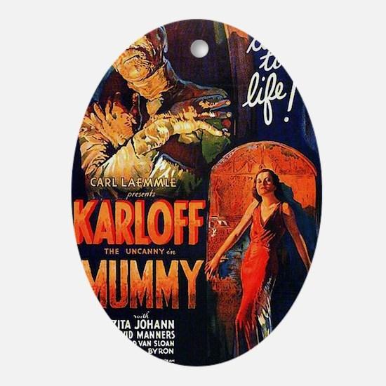 Mummy 1932 Oval Ornament