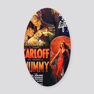 Mummy 1932 Oval Car Magnet