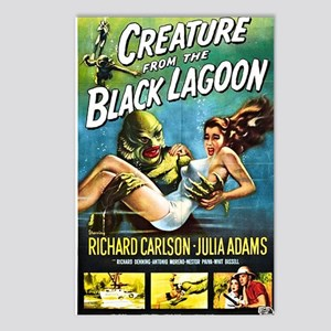 Creature from the Black L Postcards (Package of 8)