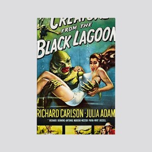 Creature from the Black Lagoon Po Rectangle Magnet