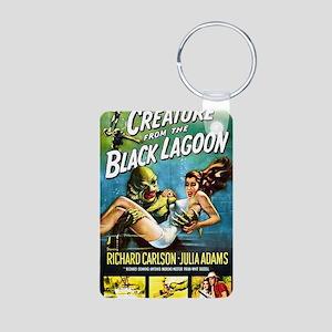 Creature from the Black La Aluminum Photo Keychain
