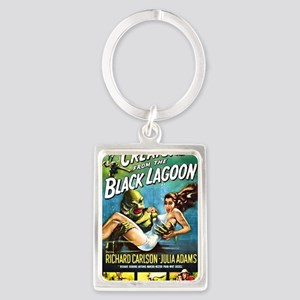 Creature from the Black Lagoon P Portrait Keychain