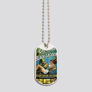 Creature from the Black Lagoon Poster Dog Tags