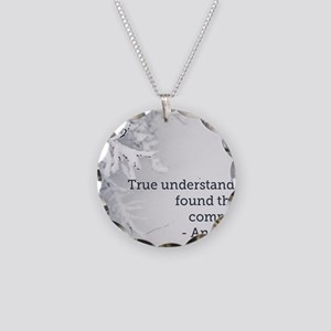 Understand ME Necklace Circle Charm