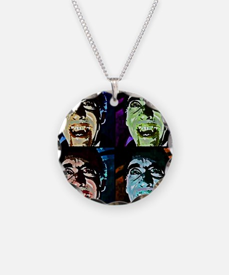 Dracula Pop Art Necklace