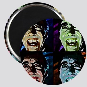 Dracula Pop Art Magnet