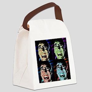 Dracula Pop Art Canvas Lunch Bag