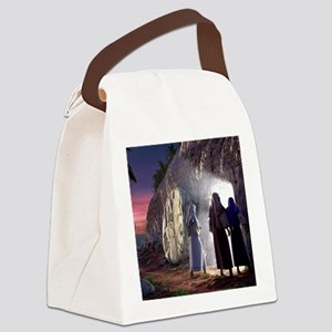 He Is Risen Canvas Lunch Bag