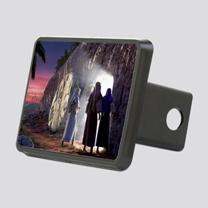 He Is Risen Rectangular Hitch Cover
