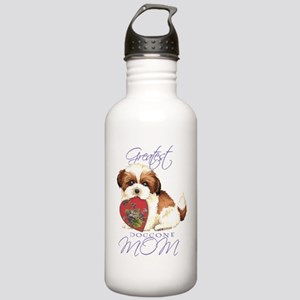 shih tzu mom1 Stainless Water Bottle 1.0L