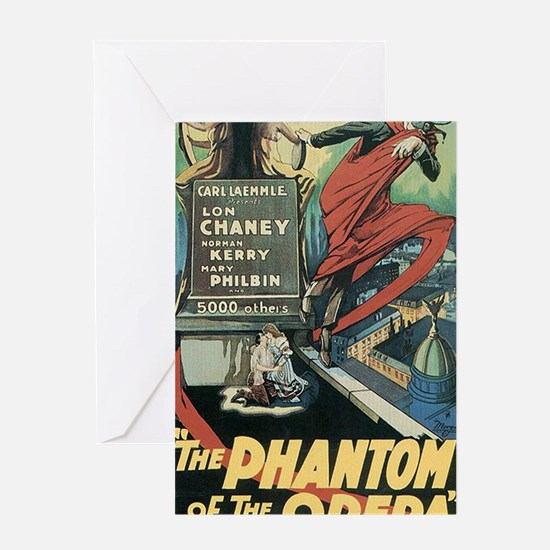 The Phantom of the Opera 1925 Greeting Card