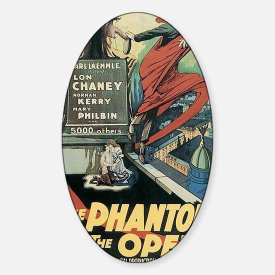 The Phantom of the Opera 1925 Sticker (Oval)