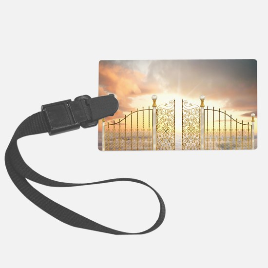 Pearly Gates - wide Luggage Tag