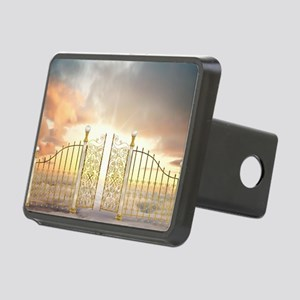 Pearly Gates - wide Rectangular Hitch Cover
