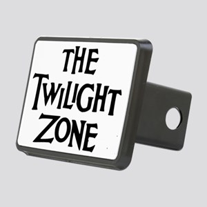 Twilight Zone Logo Rectangular Hitch Cover