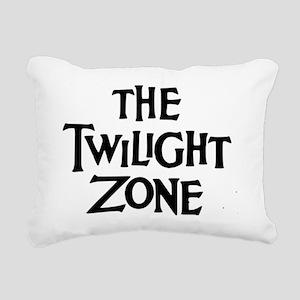 Twilight Zone Logo Rectangular Canvas Pillow