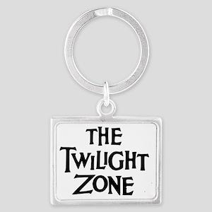 Twilight Zone Logo Landscape Keychain