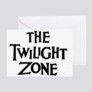 Twilight Zone Logo Greeting Card