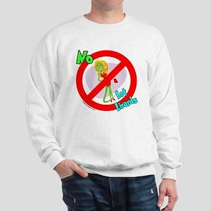 Lot Lizard Warning Sign Sweatshirt