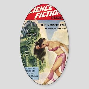 Avon Science Fiction Reader No 3 Sticker (Oval)