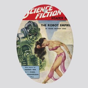 Avon Science Fiction Reader No 3 Oval Ornament