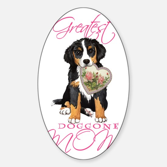 Berner mom1 Sticker (Oval)