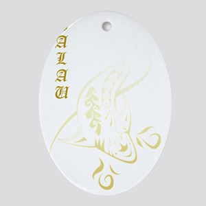 Palau Pride Oval Ornament