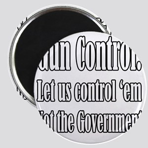 Gun Control Government Magnet