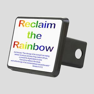 Reclaim the Rainbow Rectangular Hitch Cover