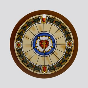 luther rose window round ornamentc Round Ornam