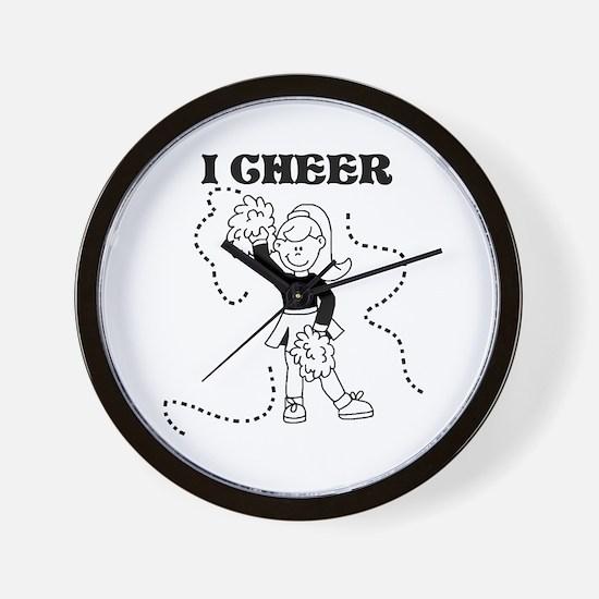 I Cheer Wall Clock