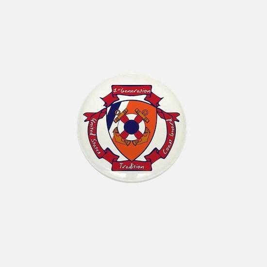 Coastie Gen 1 Mini Button