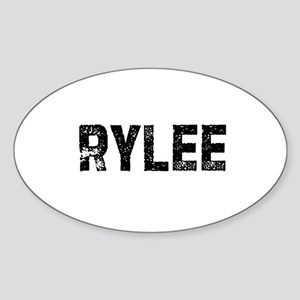 Rylee Oval Sticker