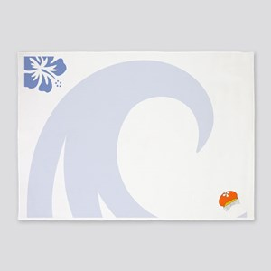 Jellyfish Magnetic Dry Erase Board 5'x7'Area Rug