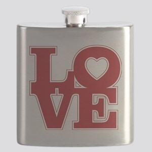 LOVE logo Flask