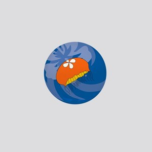 Jellyfish Ornament (Round) Mini Button