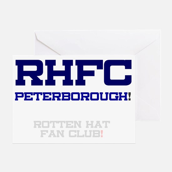 RHFC PETERBOROUGH - ROTTEN HAT FAN C Greeting Card