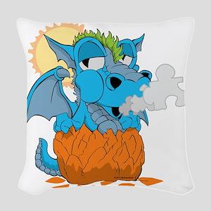 Autism Baby Dragon Woven Throw Pillow