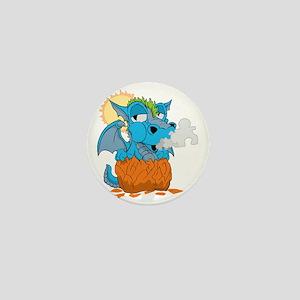 Autism Baby Dragon Mini Button