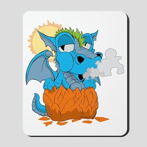 Autism Baby Dragon Mousepad